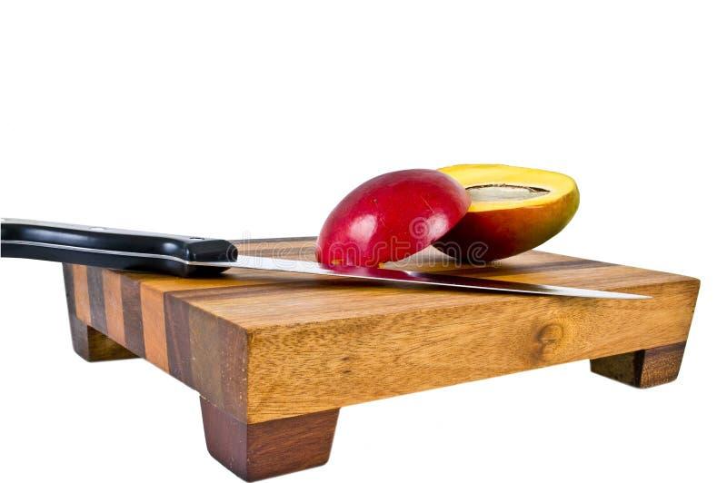 Mango rebanado foto de archivo libre de regalías