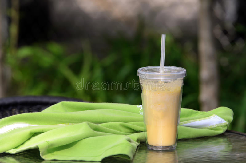 Mango shake royalty free stock images