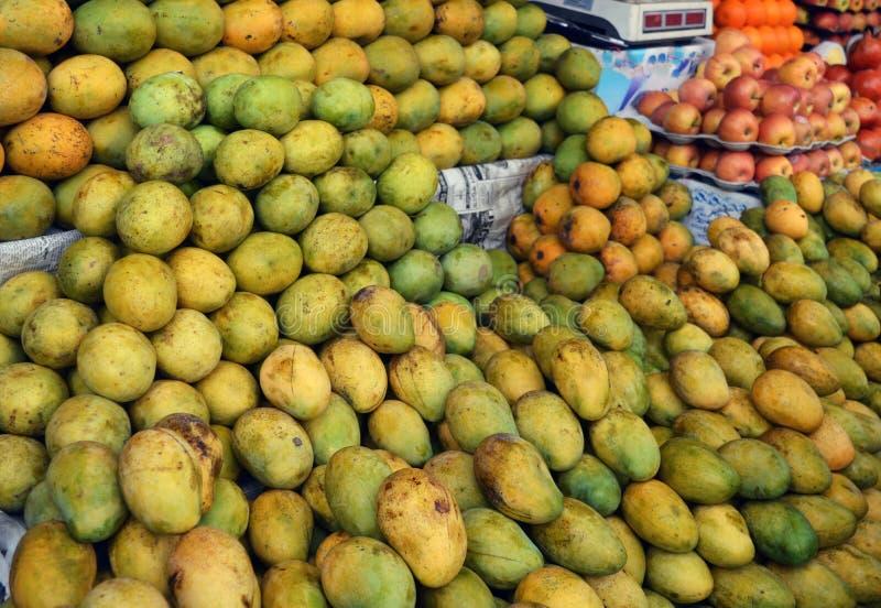 Mango shoppar royaltyfri bild