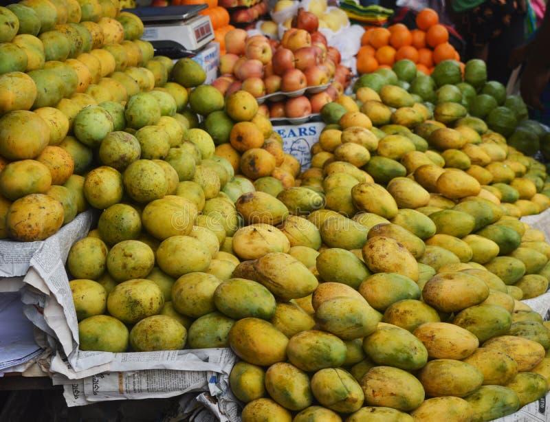 Mango shoppar royaltyfri fotografi