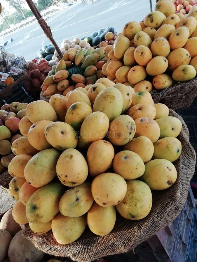 Mango. Simple click of mango shop in punjab stock image
