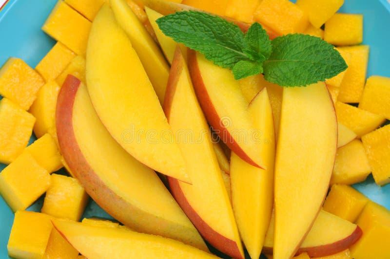 Download Mango slice stock photo. Image of dish, food, diet, green - 33855170