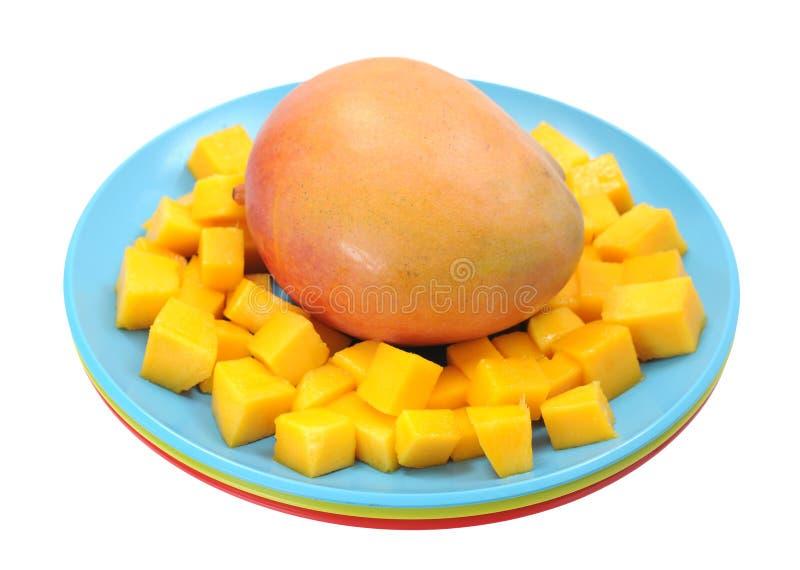 Mango Slice Royalty Free Stock Photos