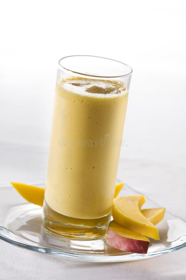 Mango smoothie stock foto's