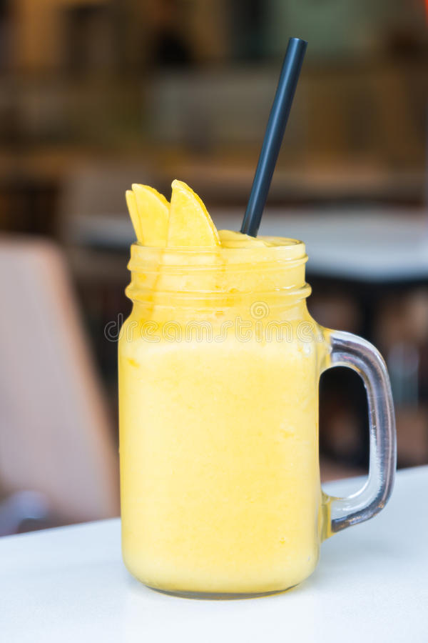 Mango Smoothies stockfotografie