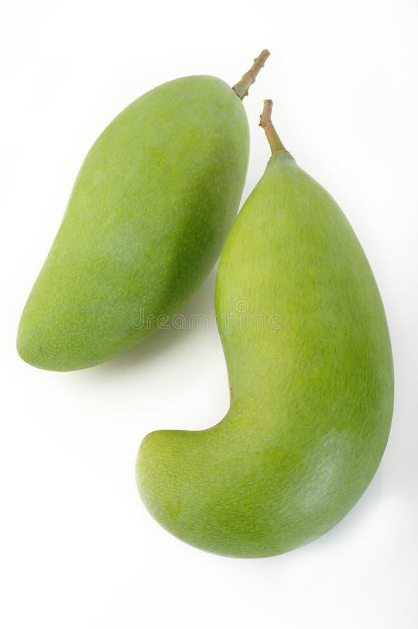 Mango verde fresco immagini stock libere da diritti