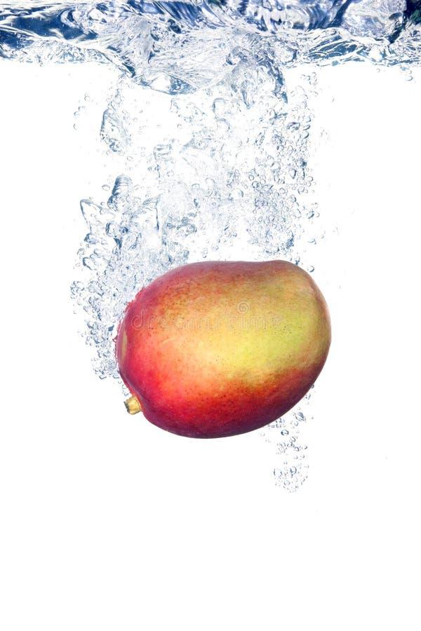 Download Mango in water stock image. Image of space, drop, shot - 17013771
