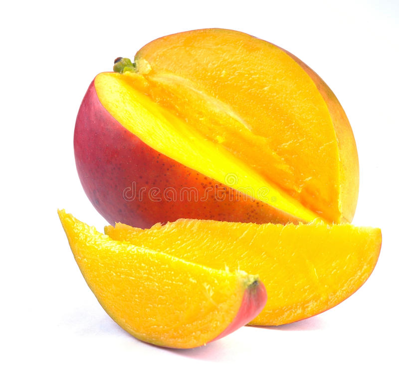 Free Mango With Section Stock Images - 14855834