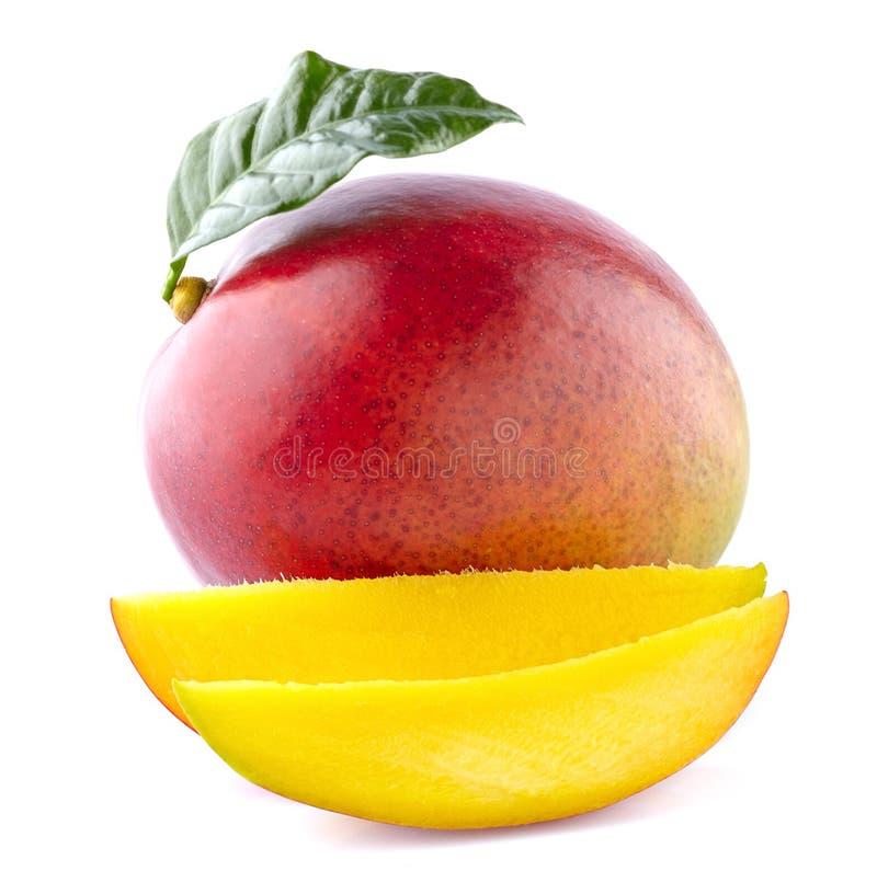 Mango z plasterkami obraz stock