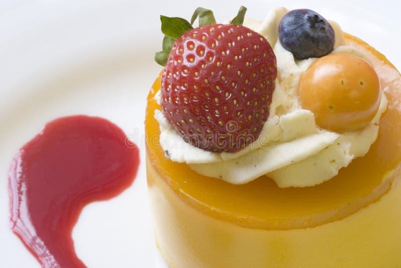 Mangofrucht-Kremeis stockfoto