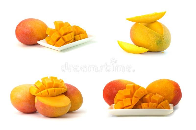 Mangofrucht trennte. lizenzfreies stockfoto