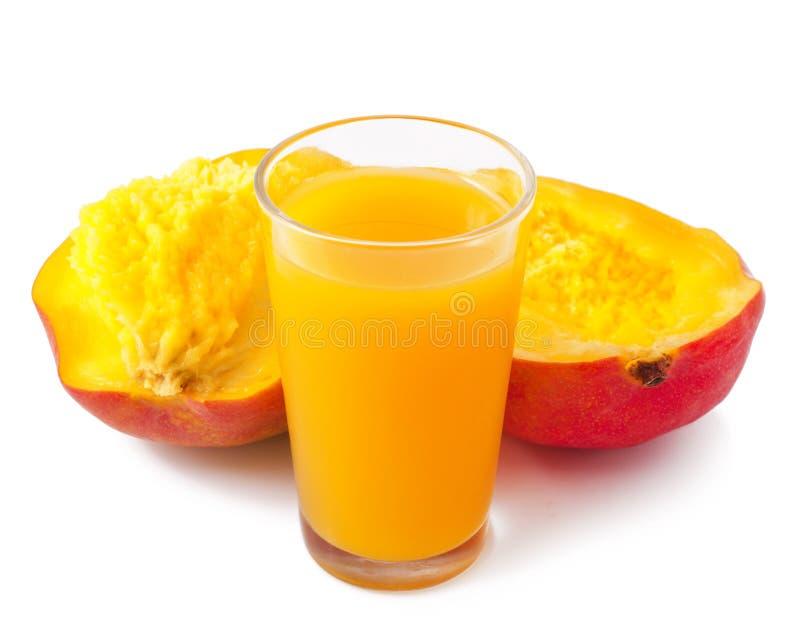 Mangofruktsaft royaltyfria foton