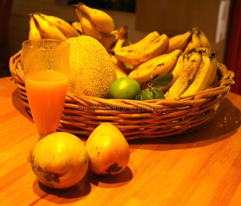 Mangofruktsaft royaltyfri fotografi