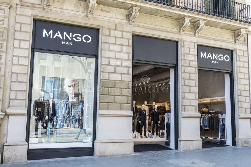 Mangolager, Barcelona royaltyfria bilder
