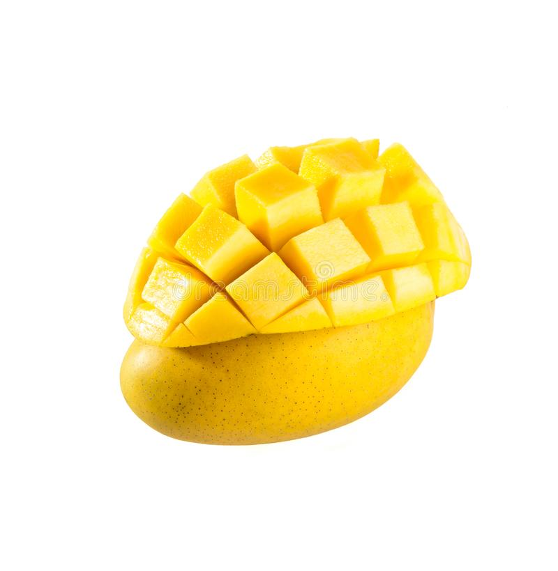 mangopflaume süße Mango auf Hintergrund stockfotografie