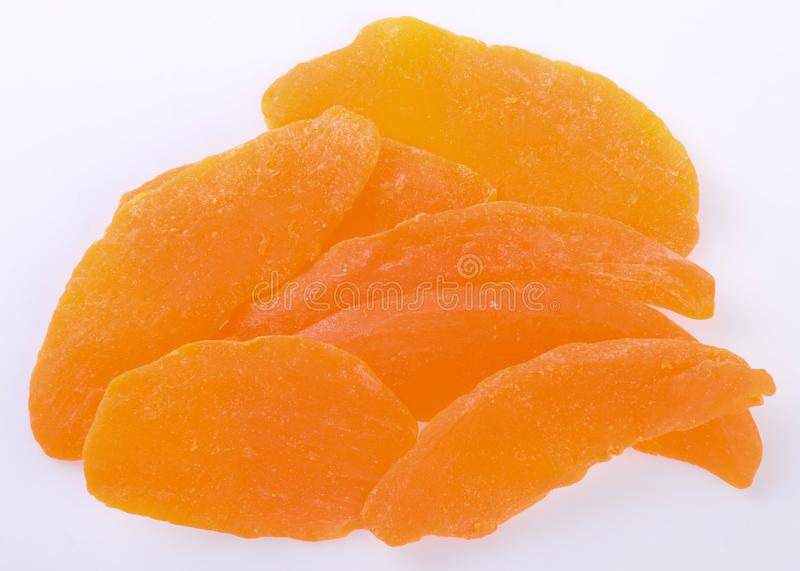 mangopflaume trockene Mango auf dem Hintergrund lizenzfreie stockfotografie