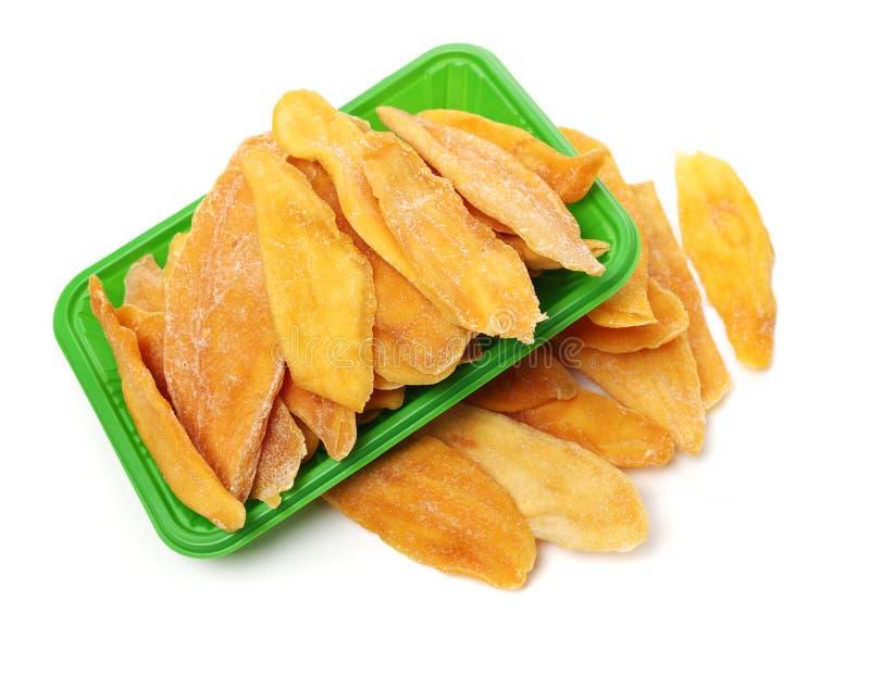 mangopflaume Trockene Mango lizenzfreie stockbilder