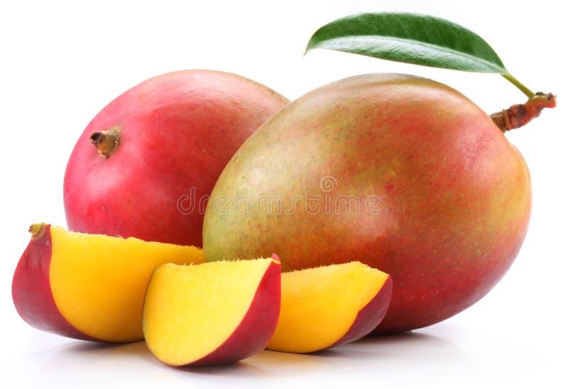 mangoskivor arkivbilder