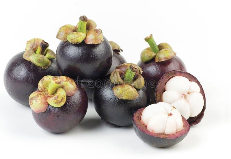 Mangostán la reina de la fruta imagen de archivo libre de regalías