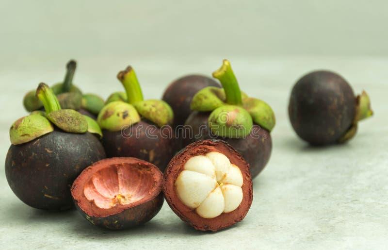 Mangostanfrucht stockfoto