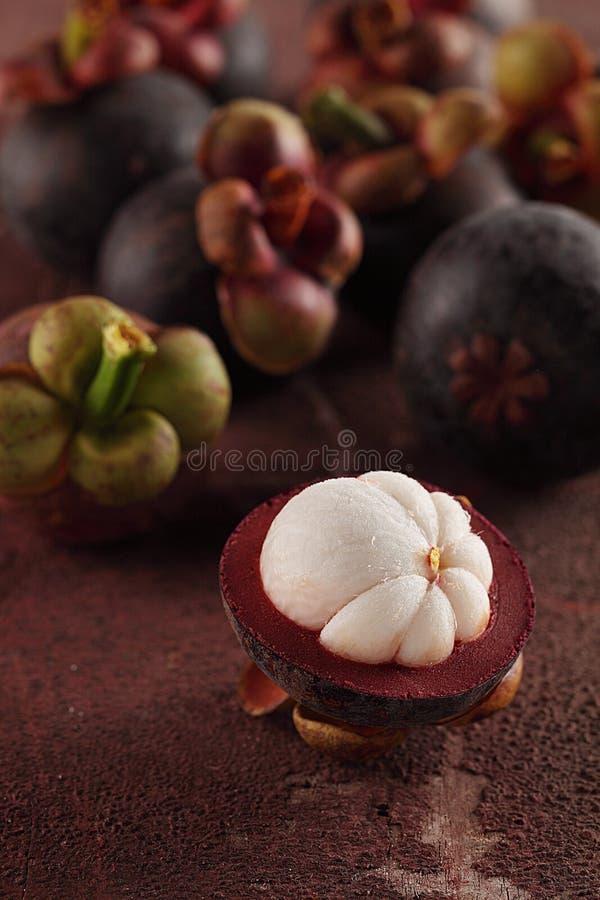 Mangostans stock foto