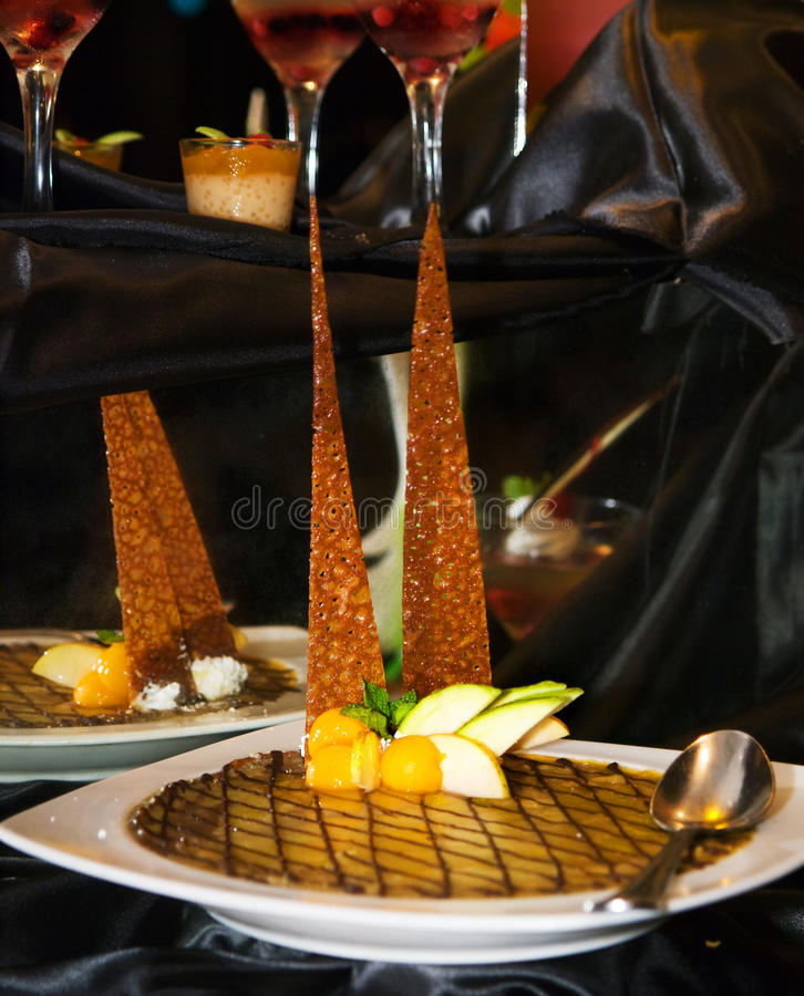 mangowy kulebiak obraz royalty free