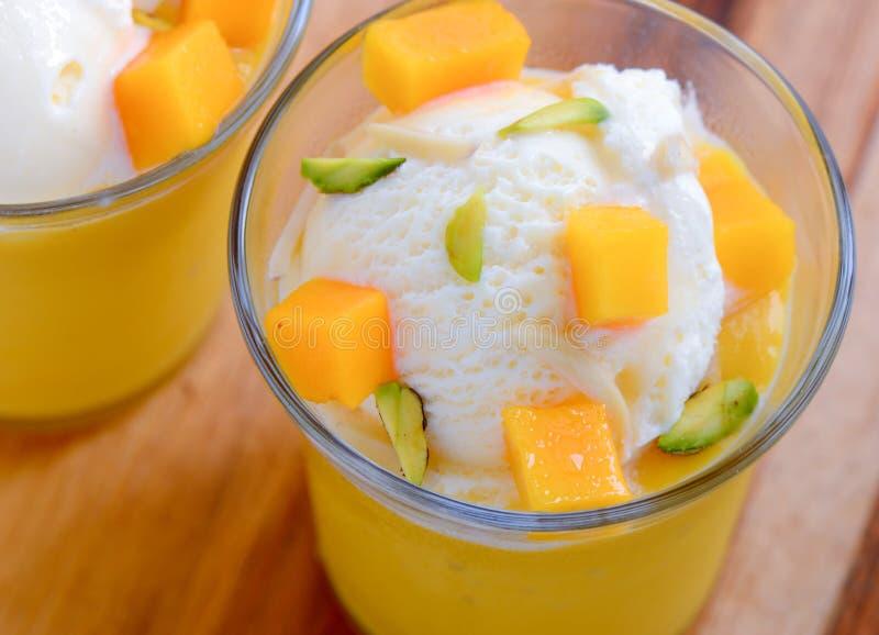 Mangowy mastani fotografia stock