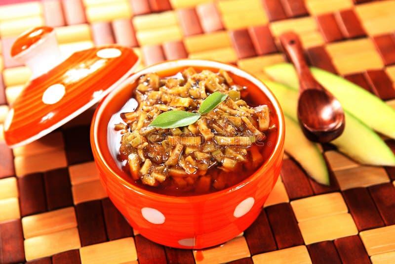 Mangowy zalewy/Aam ka Achar/Mangai thokku obrazy royalty free