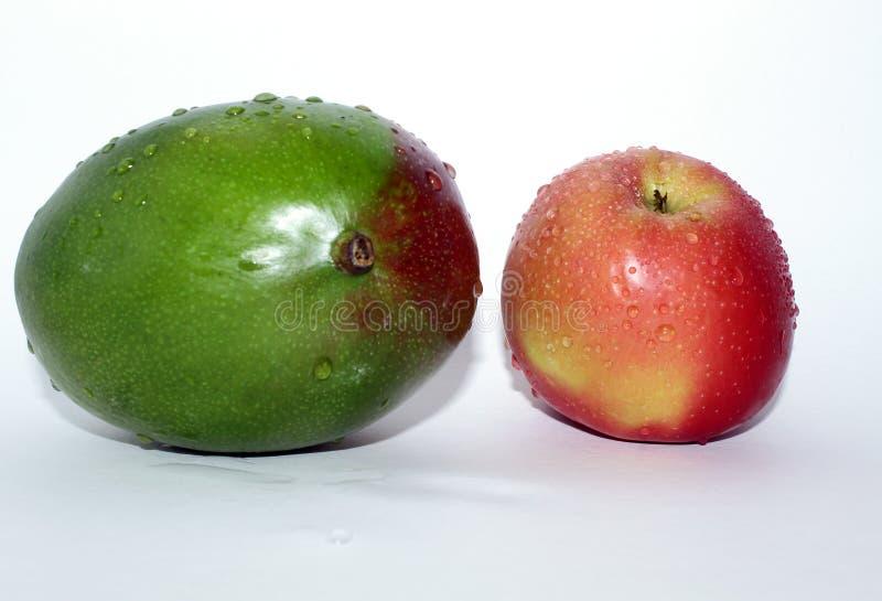Mangue avec Apple images stock