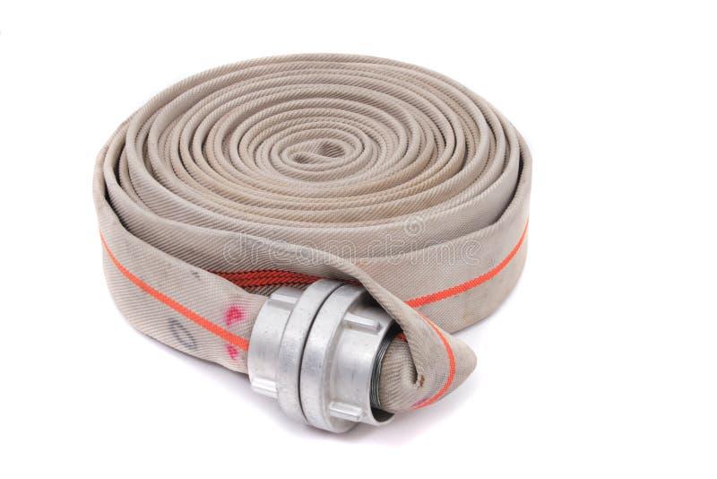 Mangueira do lutador de incêndio fotos de stock royalty free