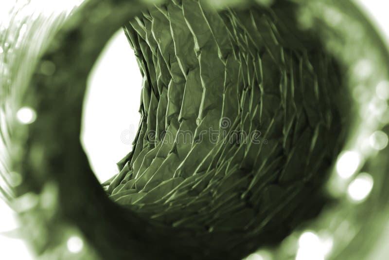 Mangueira mais seca isolada do respiradouro foto de stock