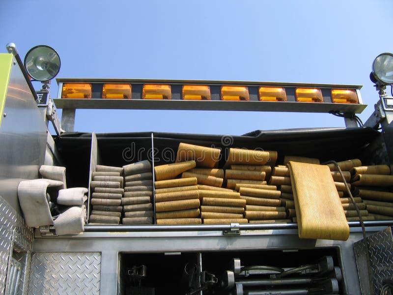 Mangueiras do bombeiro fotografia de stock royalty free