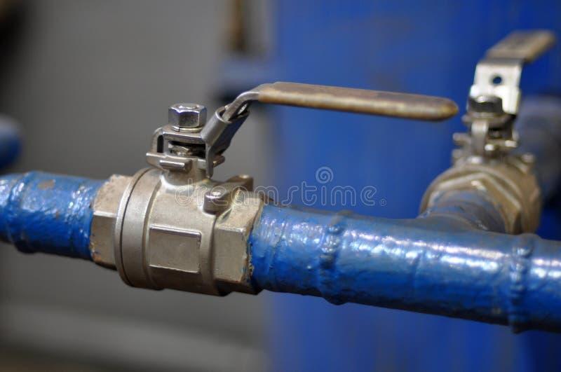 Manguitos y válvulas de alta presión para compresor de aire imagenes de archivo
