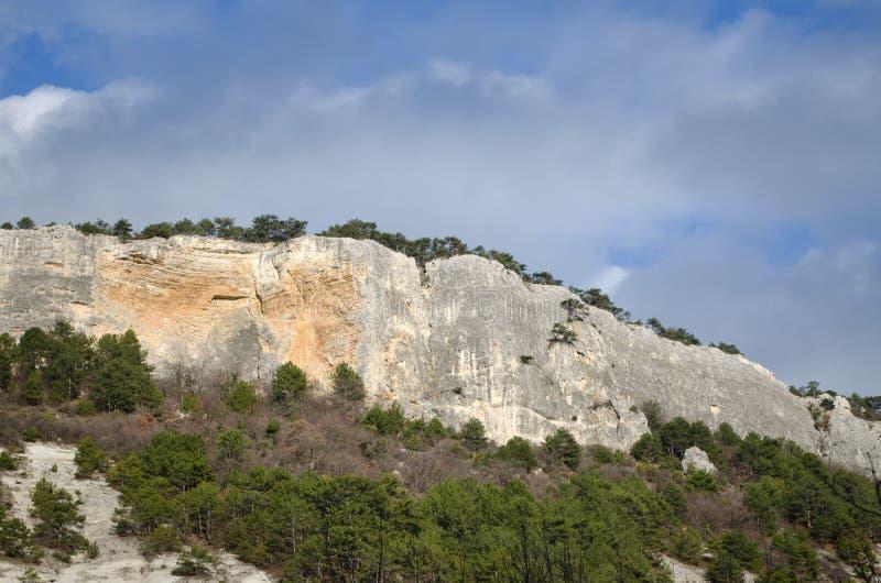 Mangup-chou frisé de plateau et x28 ; Crimea& x29 ; photos stock