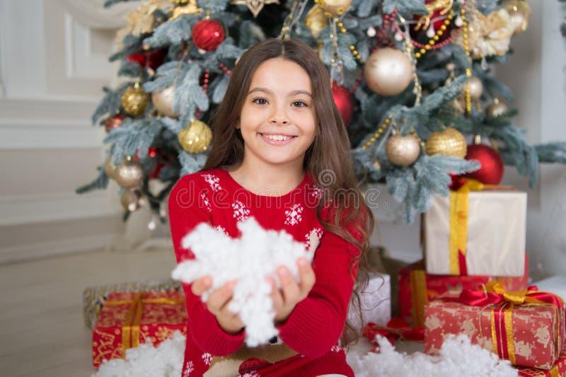 A manhã antes do Xmas Puxando a árvore de Natal Xmas Feriado da família do Natal Ano novo feliz Compra do Natal, idéia para seu p foto de stock royalty free