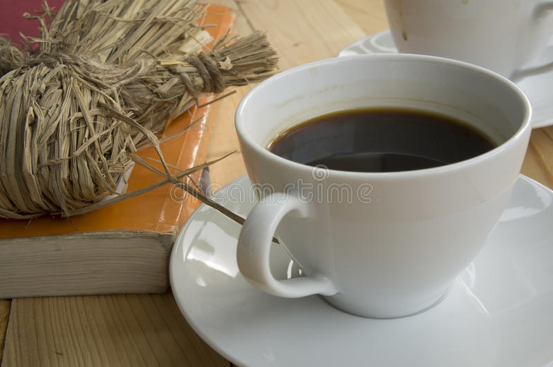 Manhã da xícara de café fotos de stock