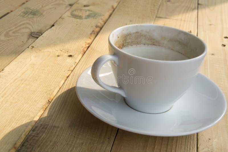 Manhã da xícara de café imagens de stock