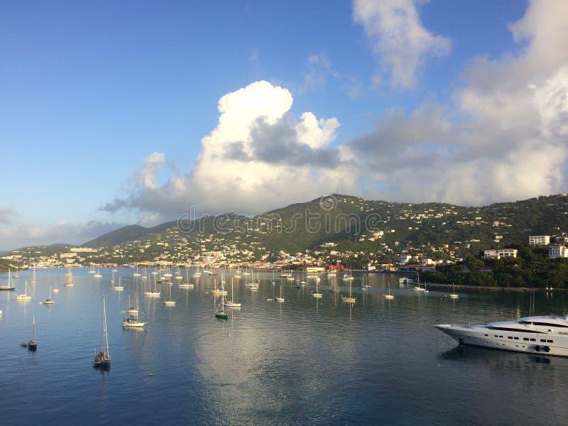 Manhã de Kitts de Saint fotografia de stock royalty free