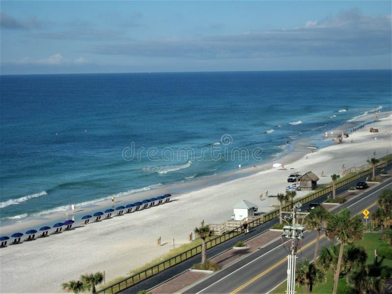 Manhã em Emerald Coast fotos de stock royalty free