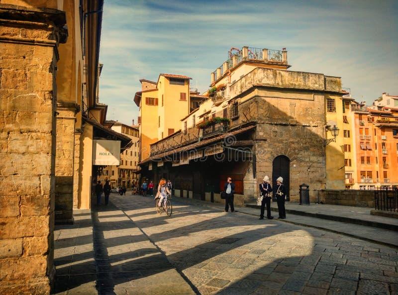 Manhã em Florença fotografia de stock