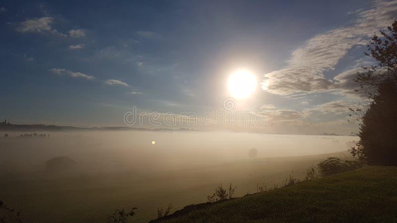 Manhã Sun imagens de stock