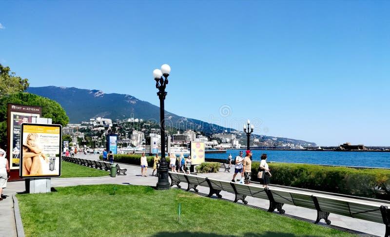 Manhã Yalta fotos de stock royalty free