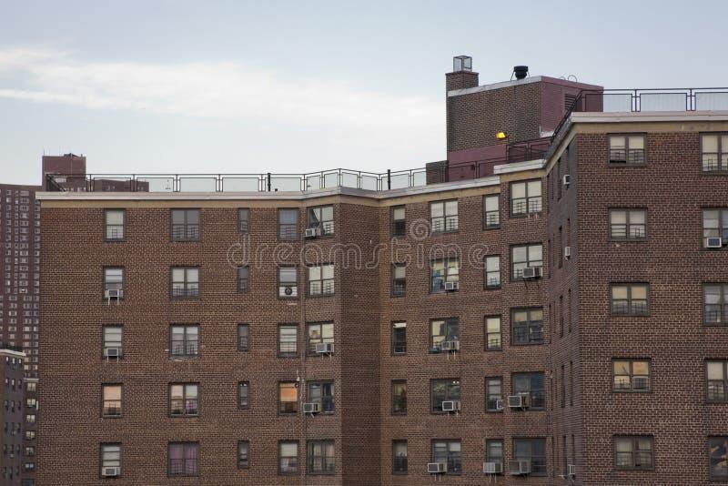 Manhattan 1 projektów mieszkaniowych obraz stock