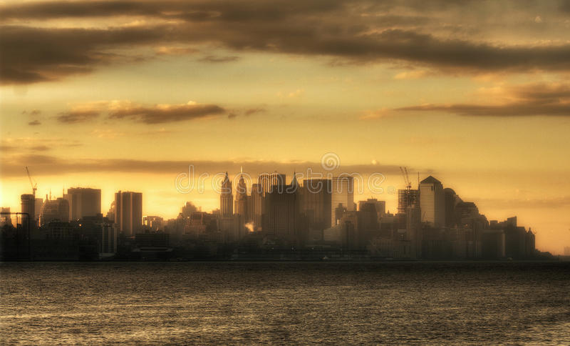 Manhattan fotografie stock