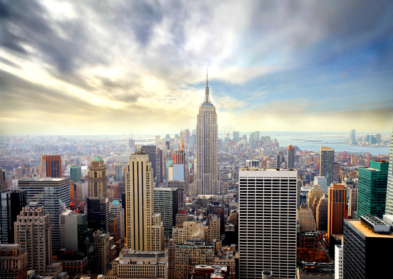 Manhattan lizenzfreie stockfotos