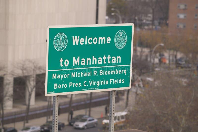 Manhattan stock foto's