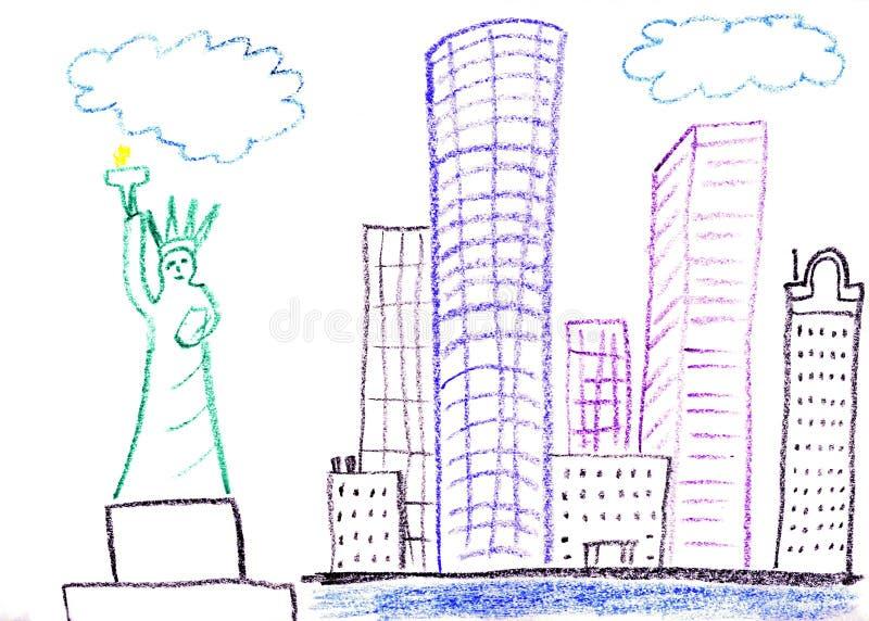 Manhattan ilustração do vetor