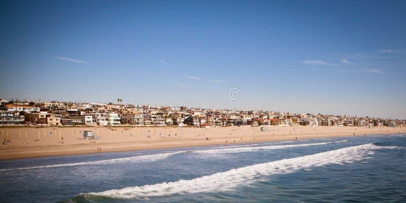 Manhattan Beach immagine stock libera da diritti