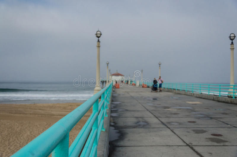 Manhattan Beach foto de stock royalty free