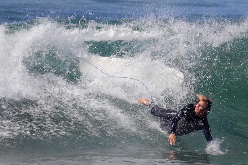 Download Manhattan Beach Surfing editorial photography. Image of extreme - 26922492